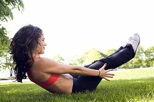 Изометрические упражнения для быстрого включения мышц